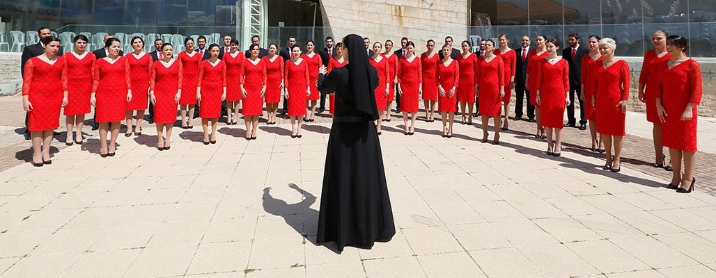 Saint Rafqa Choir - Jrabta, Lebanon